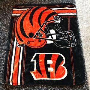 NFL Cincinnati Bengals Football Cozy FleeceBlanket
